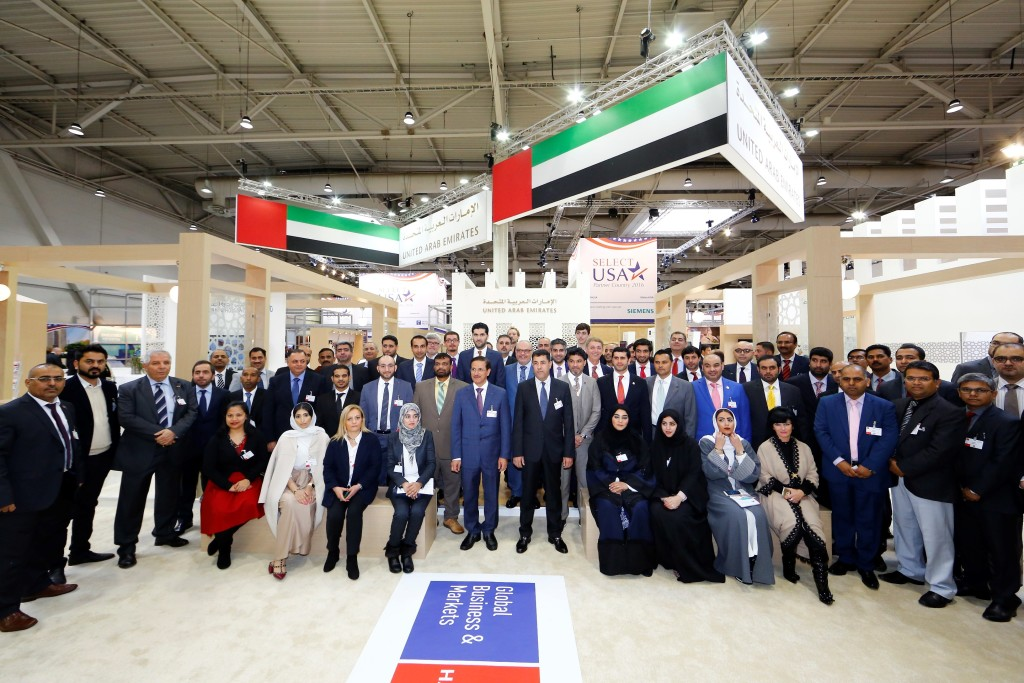 The UAE Pavilion at Hannover Messe 2016