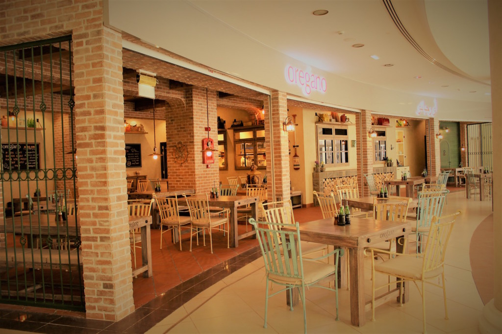 Oregano restaurant in Al Forsan Village Town Square1