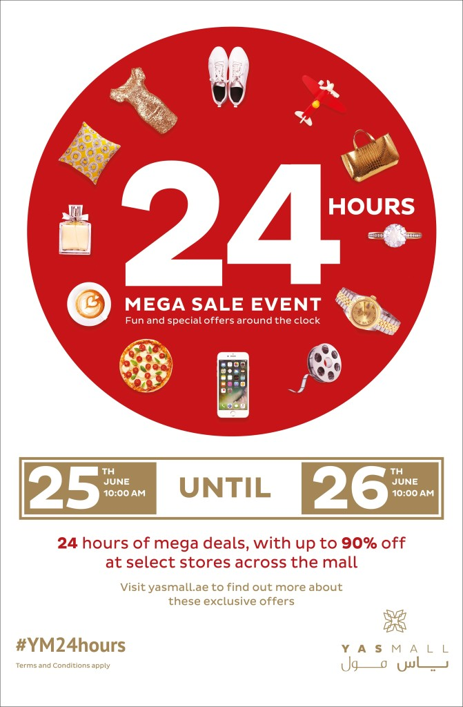 Yas Mall 24 Hours Sales - English