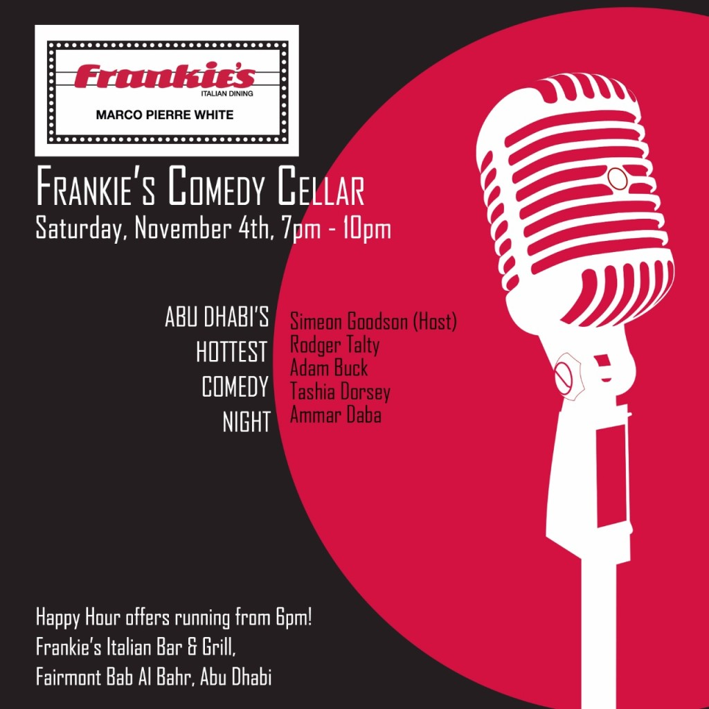Frankie's line up (Abu Dhabi 4th November)