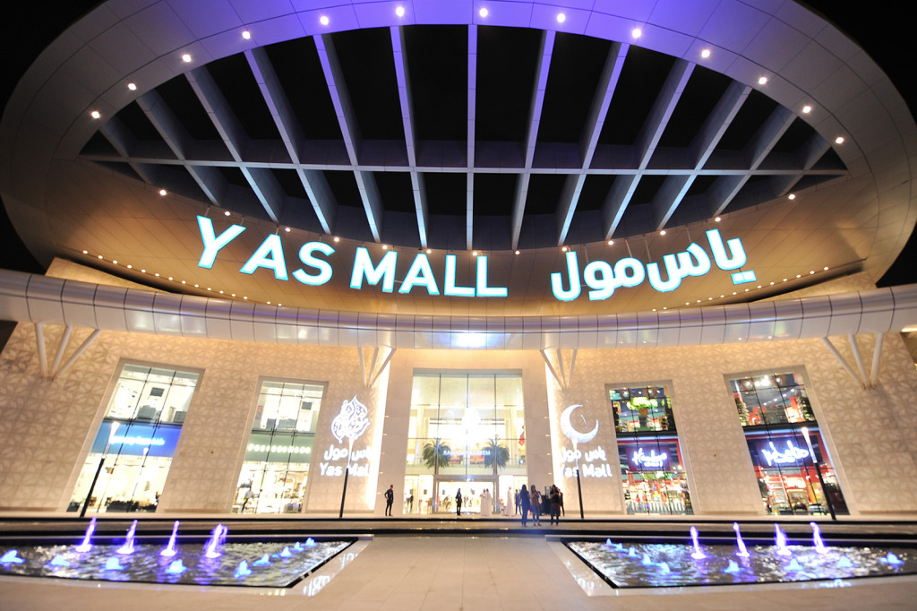 Yas Mall Exterior