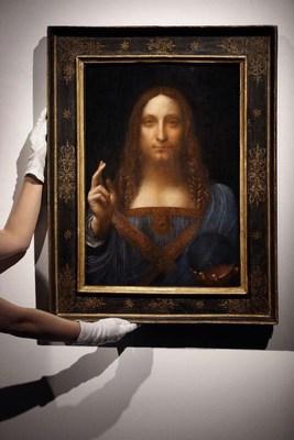 Louvre Abu Dhabi to display Leonardo da Vinci's Salvator Mundi (PRNewsfoto/Abu Dhabi Culture & Tourism)