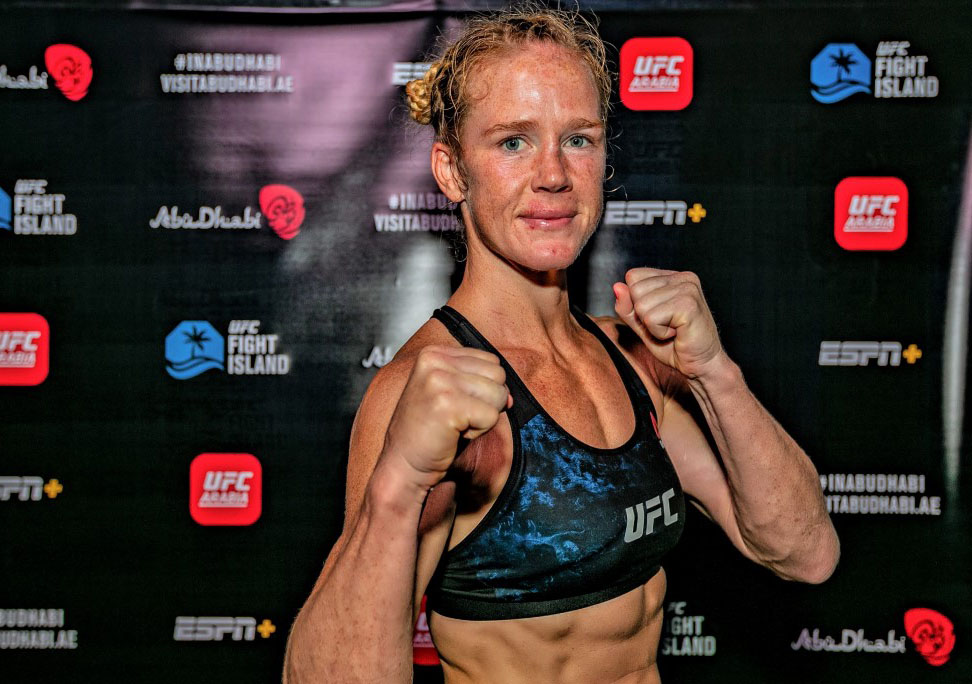 First-Ever UFC Womens Main Event in Abu Dhabi Set to